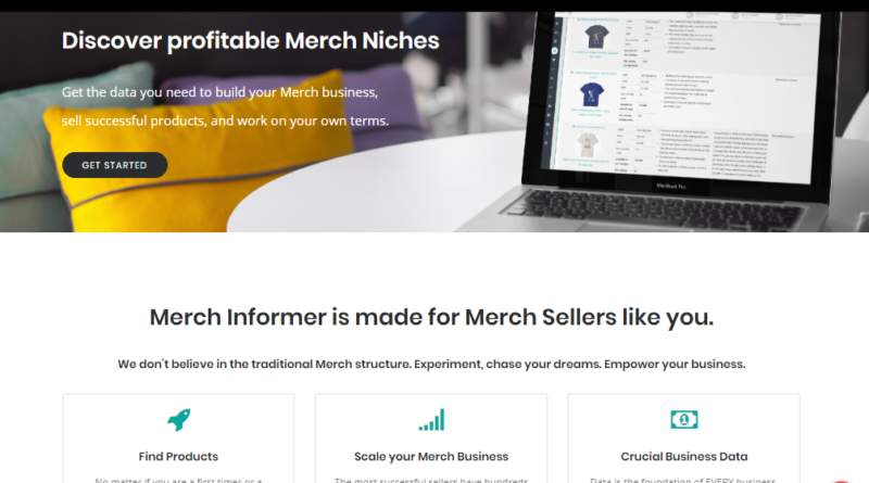Merch Informer Review 2019 ⋆ Create Winning Merch By Amazon